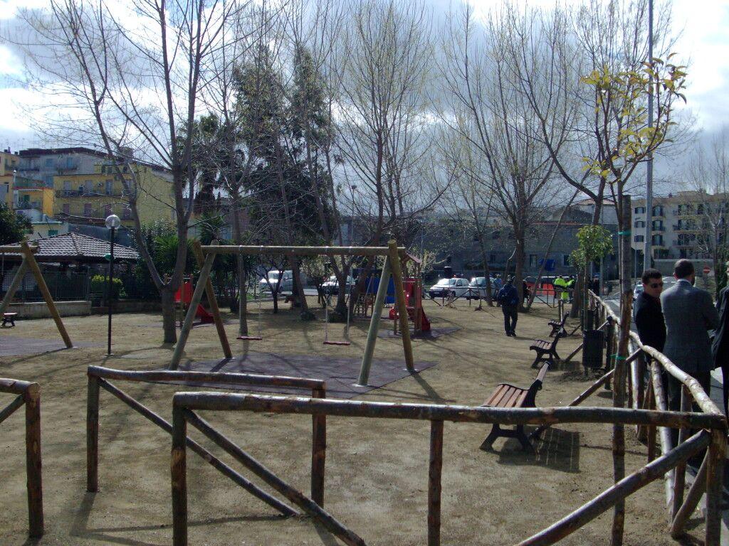 Piazzale Dalla Chiesa, domani il taglio del nastro del parco giochi