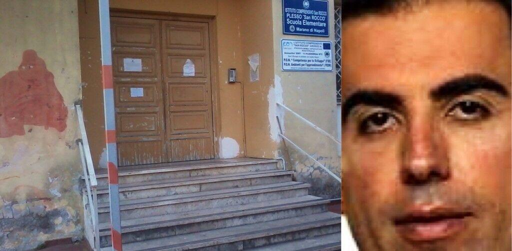 Aule sporche a Marano, Liccardo chiude due scuole