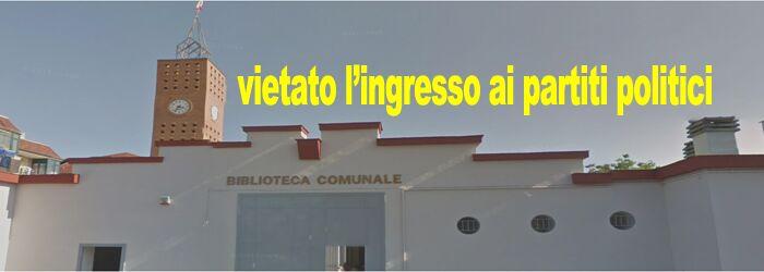 """Biblioteca vietata ai partiti politici, Antonio Russo (Sel), """"i commissari non favoriscono il dialogo e la democrazia, è incomprensibile"""""""