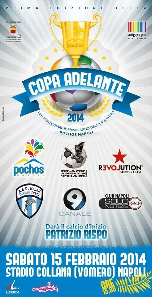 Copa Adelante, giornata contro l'omofobia al Collana