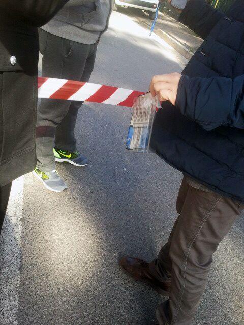 Foto. Rapina con ferito a Villaricca