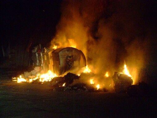A Qualiano arrestato un casertano per combustione illecita di rifiuti