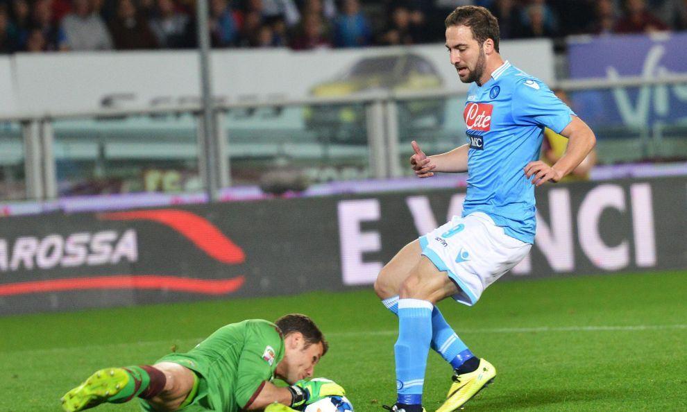 Il Napoli taglia la testa al Toro, battuti i granata 1-0
