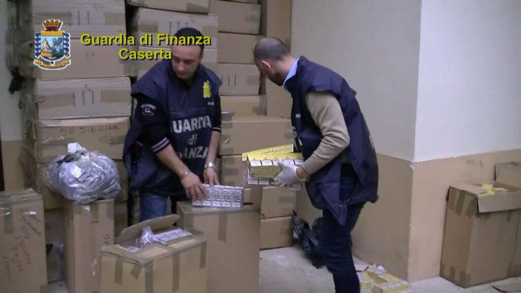 Task force della Guardia di Finanza per il contrabbando di sigarette