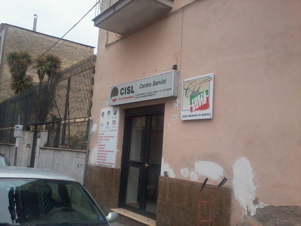 Marano, la sede che ospitava Bertini e i comunisti è diventata un club Forza Silvio