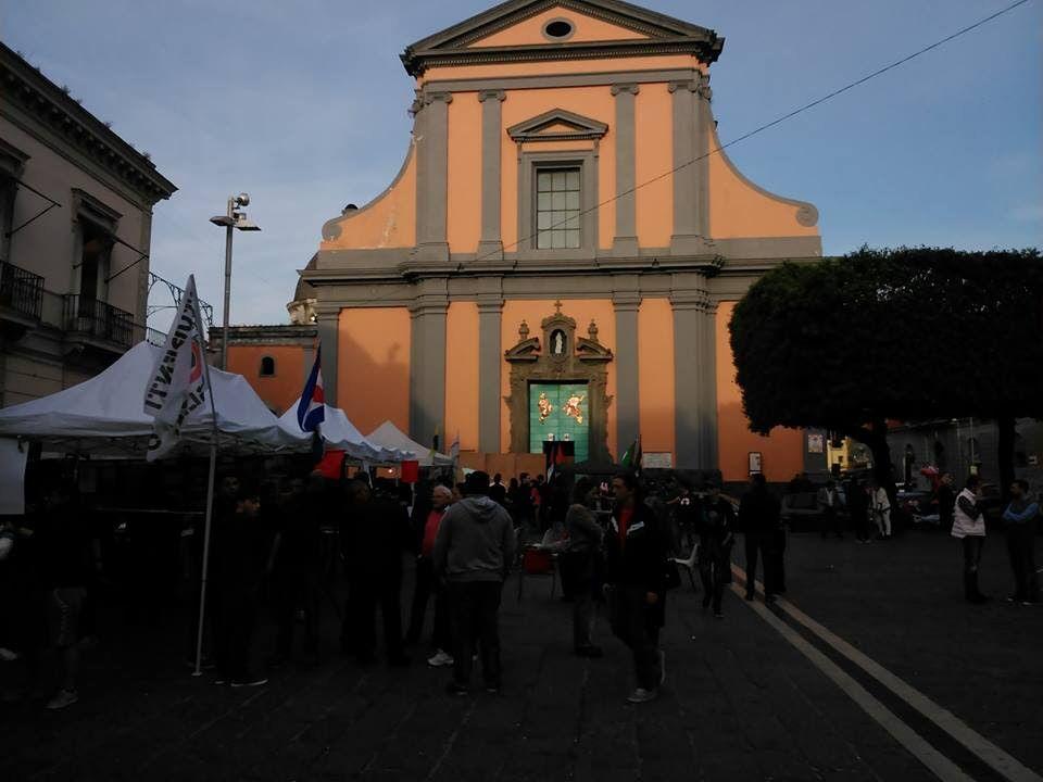 Tanti giovani in piazza Matteotti per il 25 aprile