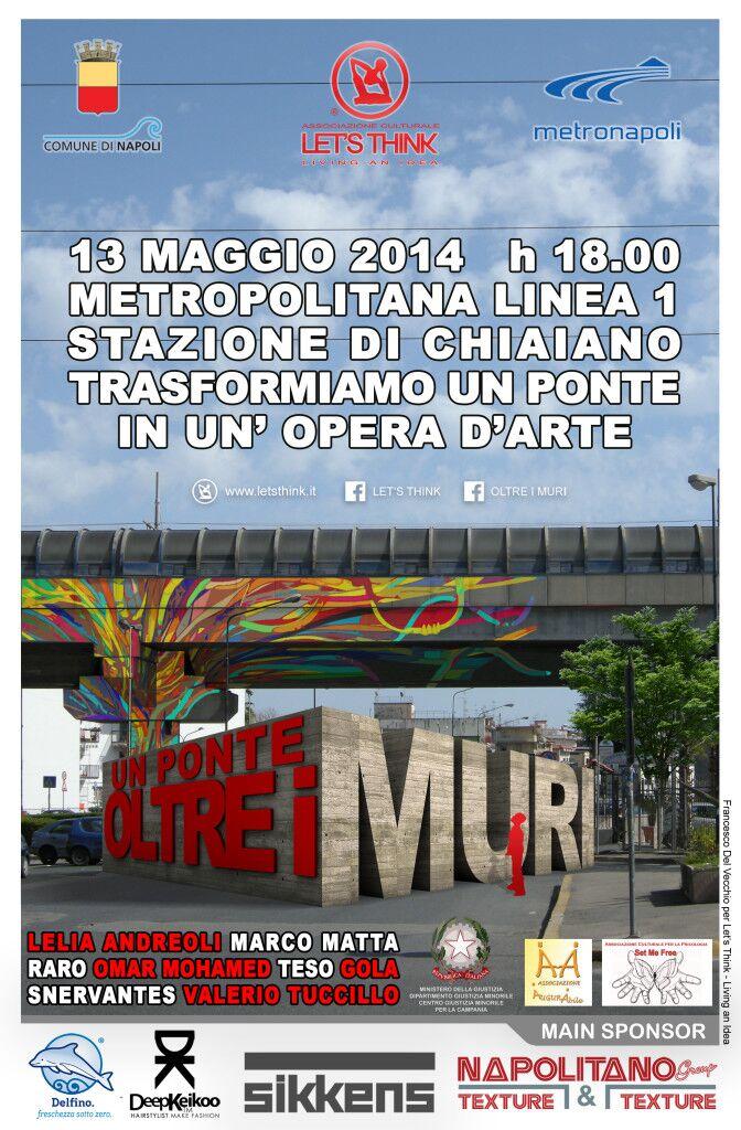 Il 13 Maggio la metro di Chiaiano si trasforma in un'opera d'arte
