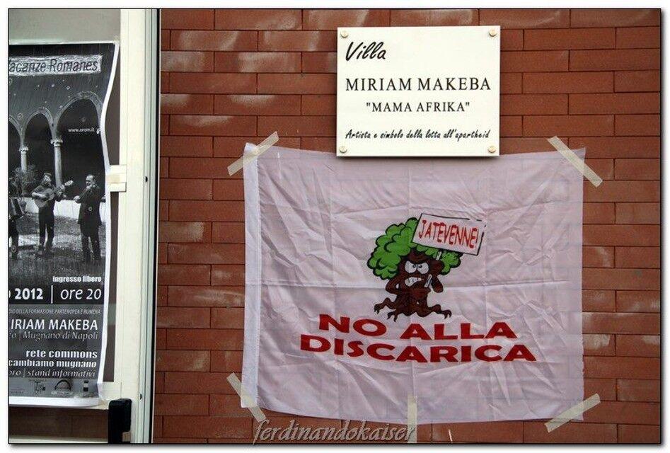 Mugnano, off-limits la villetta comunale Miriam Makeba