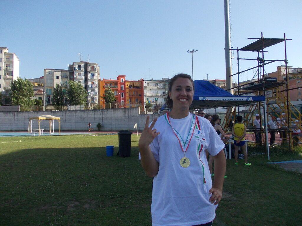 Atletica leggera, è di Marano la nuova campionessa italiana del lancio del disco categoria Allieve
