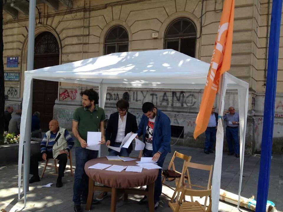 Le domeniche democratiche dei GD in piazza
