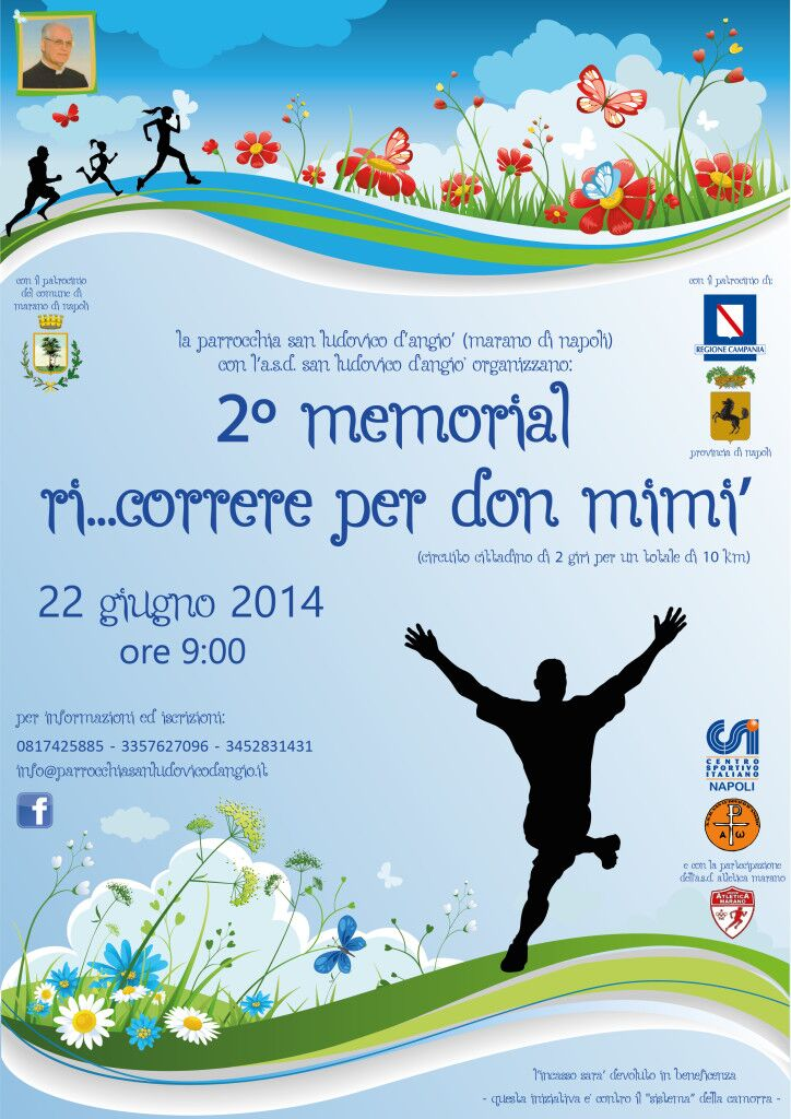 Secondo Memorial don Mimì Galluccio, oggi la tradizionale gara podistica