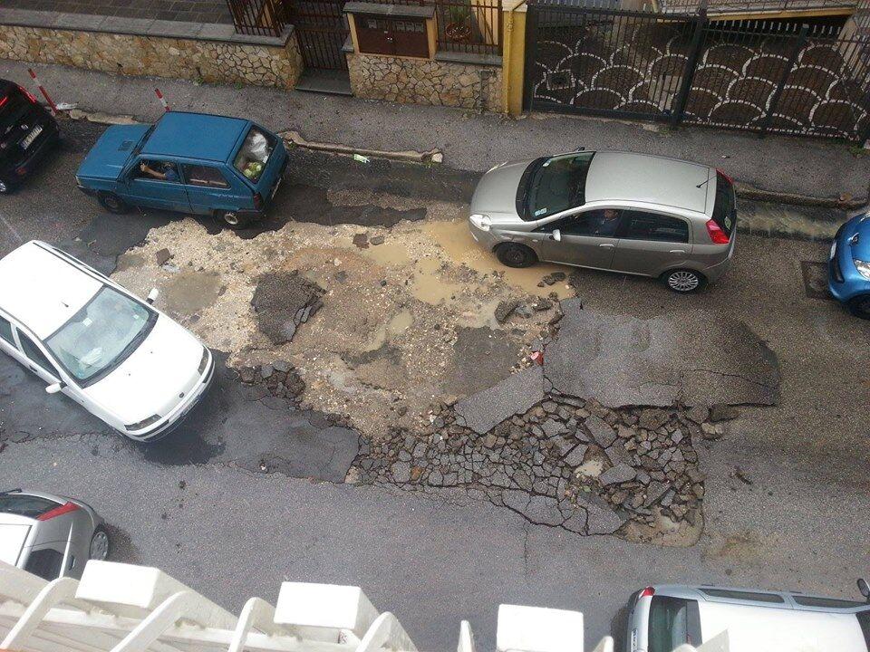 Marano, maltempo: acqua e fango sulla città