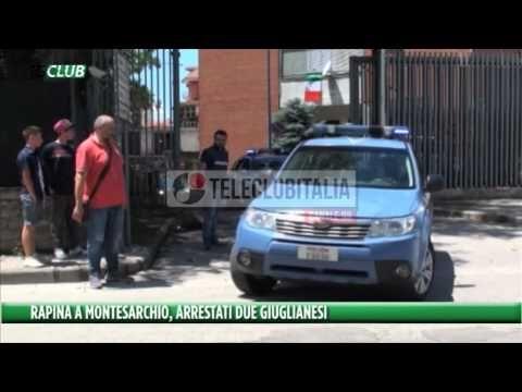 Colpo in banca a Montesarchio: incastrati due giuglianesi. Stavano per fuggire in Germania. Guarda il video della rapina