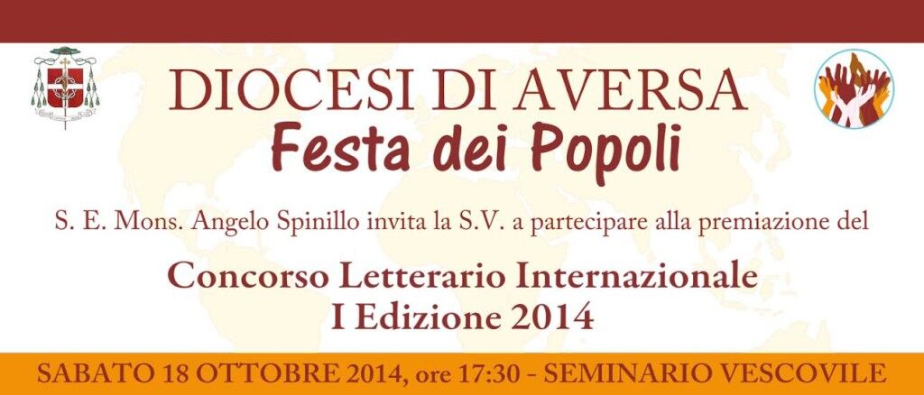I Concorso Letterario Festa dei Popoli: la Premiazione