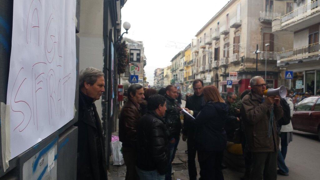 Protesta a Marano per le case popolari. Guarda il video