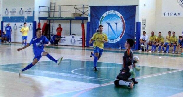 Calcio a 5, il Napoli sfiora l'impresa in Calabria ma ancora non arriva la prima vittoria