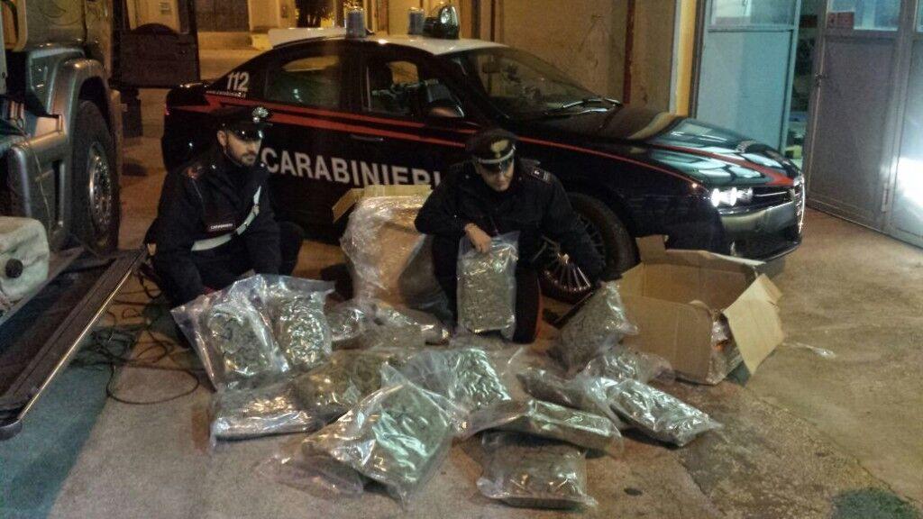 Spaccio di droga arresti a Qualiano e Melito
