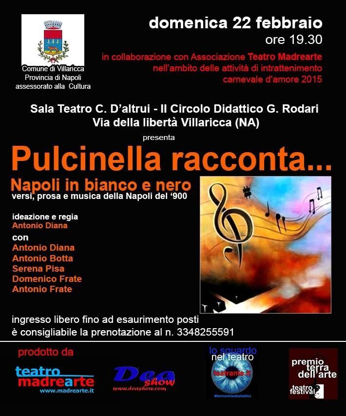Villaricca, Pulcinella racconta Napoli