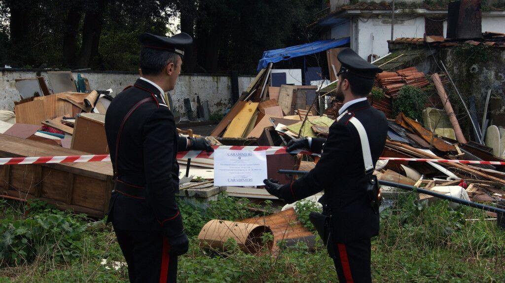 Terra dei fuochi: arrestate 3 persone per incendio di rifiuti