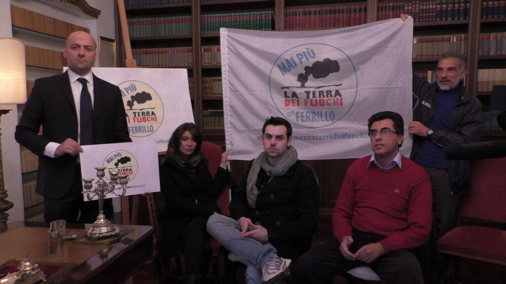 """Regionali: Ferrillo fonda la lista """"Terra dei fuochi"""""""