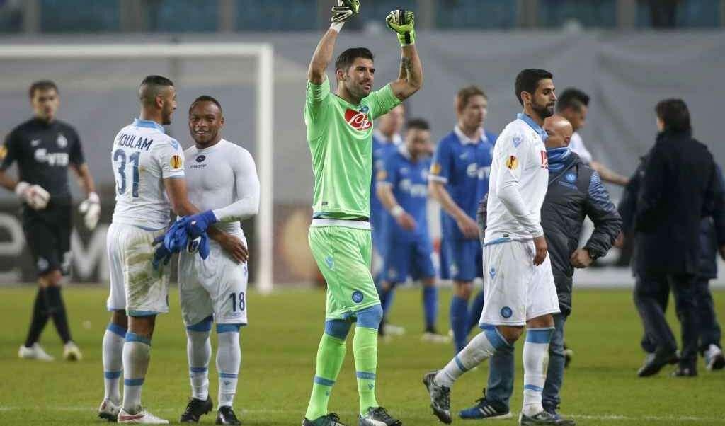 Il Napoli passa il turno ed accede ai quarti di Europa League 26 anni dopo l'ultima volta