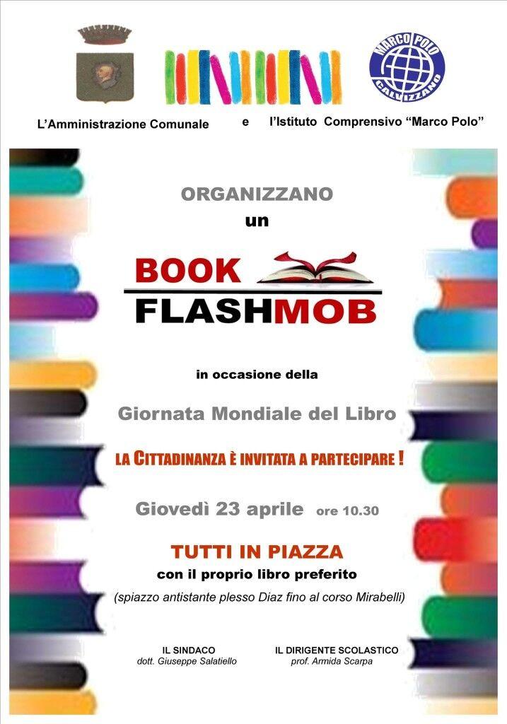 """""""Bookflashmob"""" e inaugurazione biblioteca, la Marco Polo celebra la Giornata mondiale del libro"""
