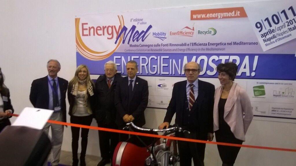 Energy med, taglio del nastro alla mostra convegno sulle energie rinnovabili. Video