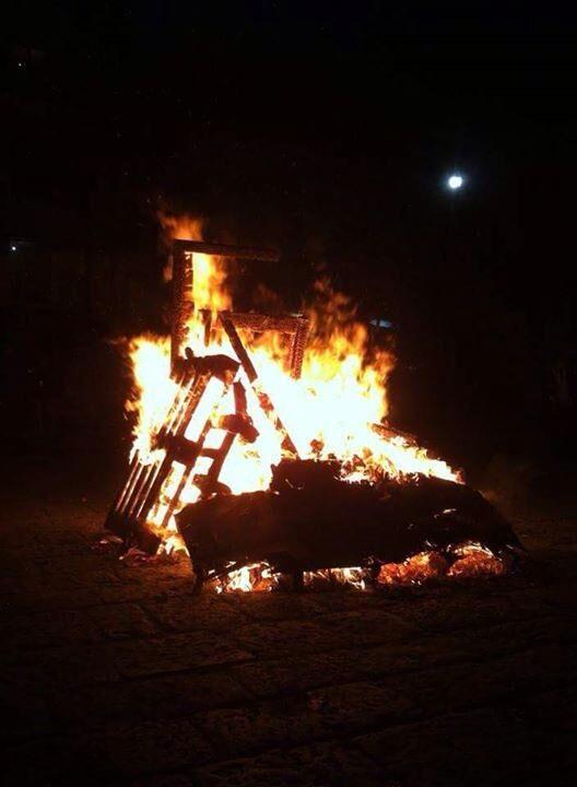 Giugliano, questa sera il tradizionale Fuocarazzo in Piazza Matteotti