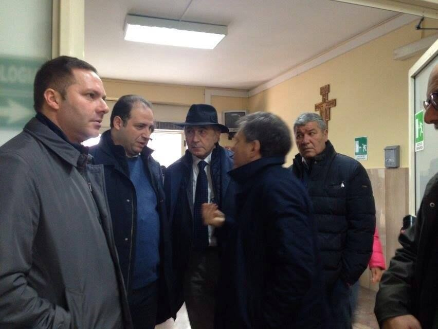 Ispezione a sorpresa al San Giuliano. Ecco cosa sta succedendo. Guarda il video