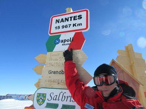 Napoli arriva fino in Antartide