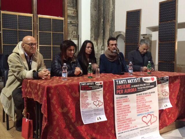 """Insieme per Aurora"", venerdì grande evento di beneficenza al Palapartenope. Video"