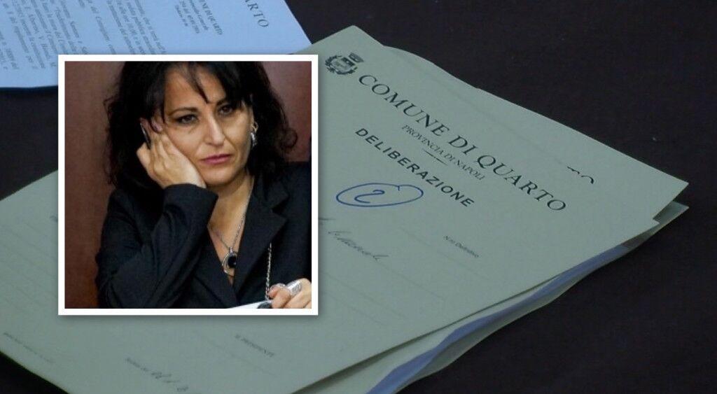 """Quarto. Rosa Capuozzo all'Antimafia: """"Chiesi tre volte l'espulsione di De Robbio"""""""