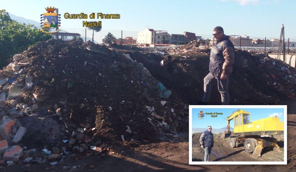 La guardia di Finanza sequestra un sito di stoccaggio abusivo di rifiuti speciali