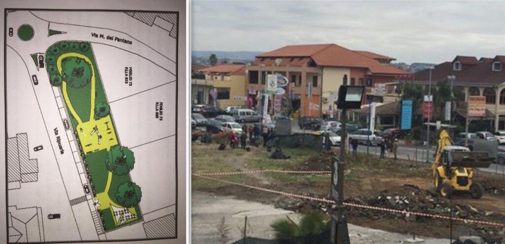 Varcaturo, bonificata l'area dove nascerà la villetta costruita da associazioni e cittadini