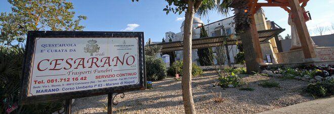Sigilli all'agenzia funebre dei Cesarano, protagonisti delle cronache nazionali con Quarto e i Casamonica