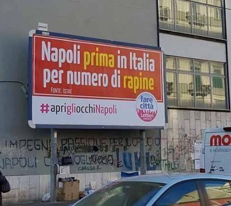 """Manifesto di Lettieri, la replica: """"Sputtanapoli è amministrare male"""""""