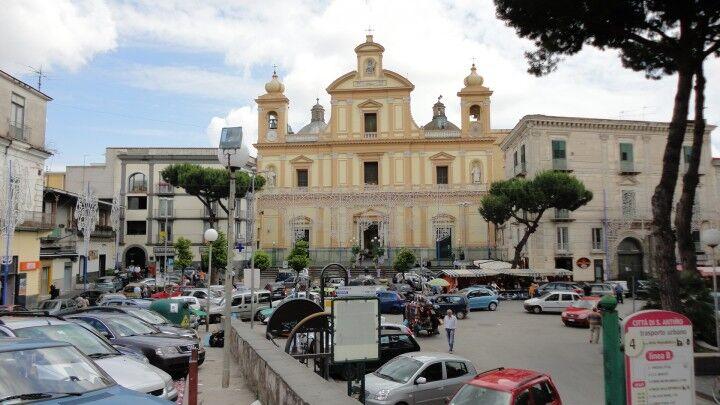 Festa patronale a Sant'Antimo, vietati i fuochi in piazza. E' polemica