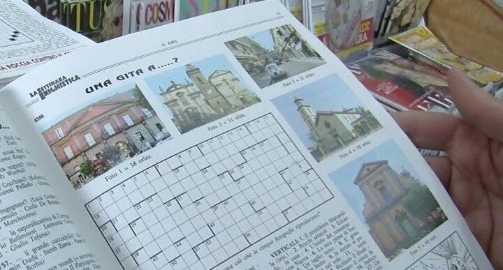 """Giugliano, la città in un gioco de """"La settimana enigmistica"""""""