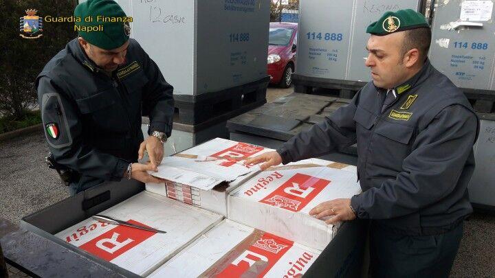 Giugliano, sequestro di sigarette per oltre 2 milioni di euro, 8 persone arrestate. Guarda il video