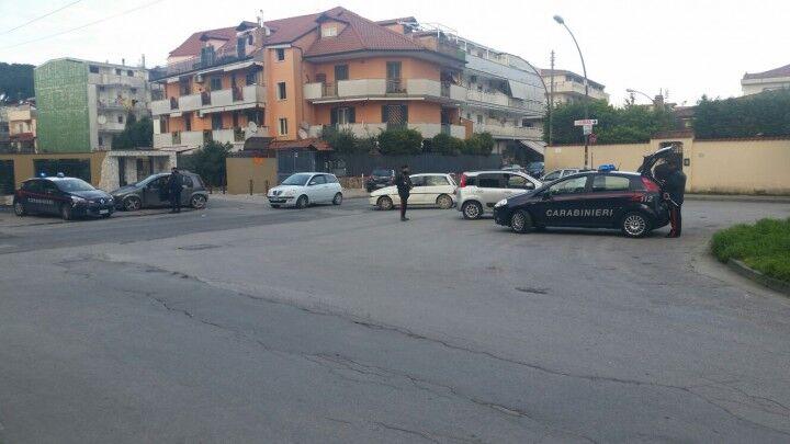 Alto impatto a Villaricca, operazione con decine di Carabinieri in strada