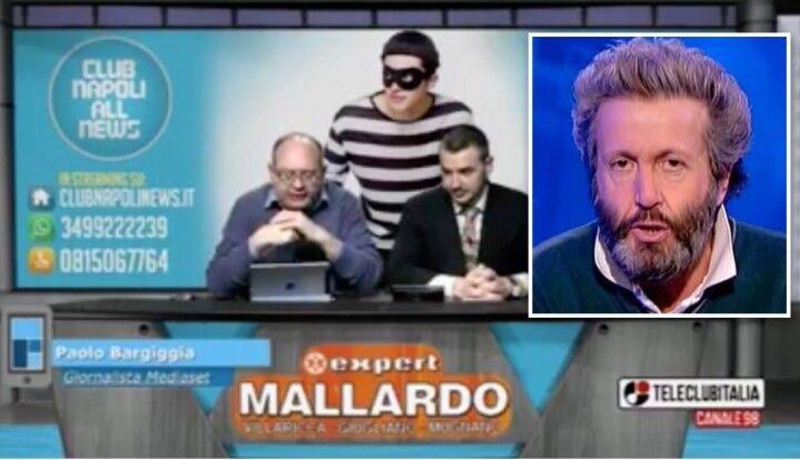 """Scontro Napoli-Mediaset, Paolo Bargiggia a Club Napoli: """"Ecco la mia verità"""""""