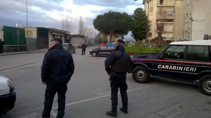 Alto impatto dei carabinieri, arresti e controlli alle auto