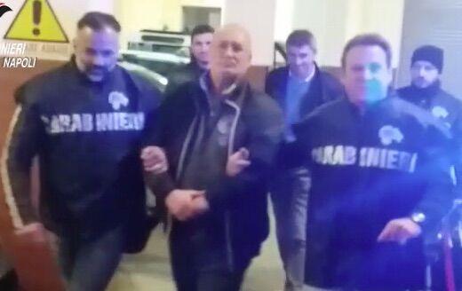 Mazzata alla camorra del Vomero: arrestato il boss Cimmino, si nascondeva in Veneto. Guarda il video
