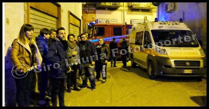 Bomba esplosa in pieno centro, paura a Frattamaggiore