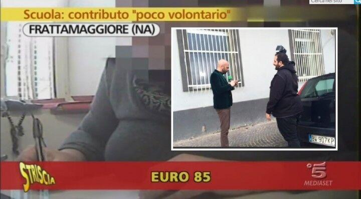 """Fratta, Luca Abete in città. Nuovo servizio sullo scandalo """"contributi"""" scolastici?"""
