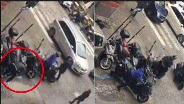 Rubano uno scooter ma vengono presi dai carabinieri. Due in manette