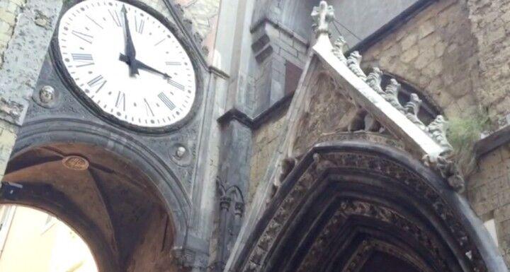 Napoli senza mare: la chiesa di Sant'Eligio