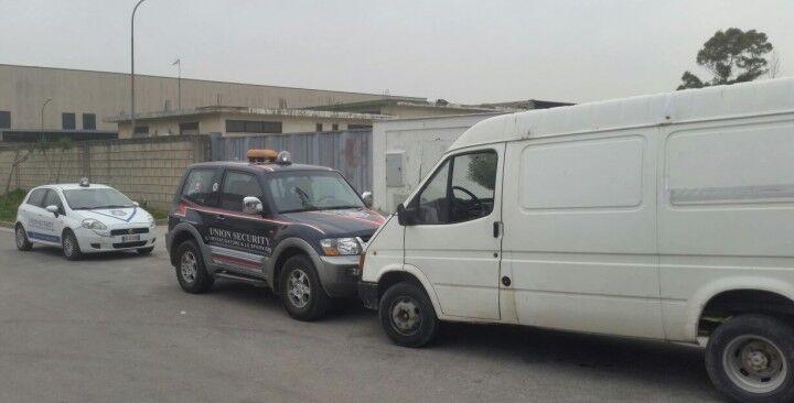 Ancora un furto sventato per gli agenti della Union Security, ladri messi in fuga e merce recuperata