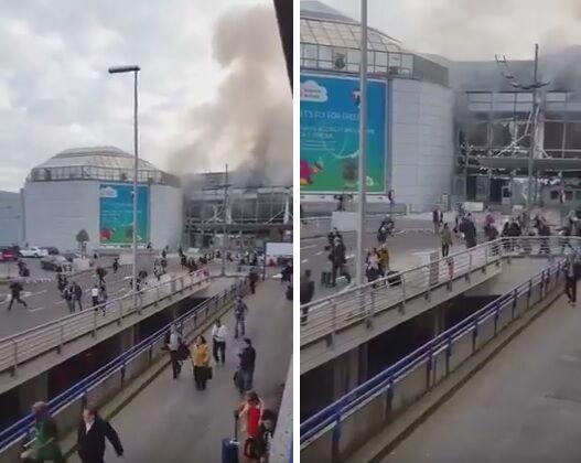 Attentato all'aeroporto di Bruxelles. ECCO IL VIDEO DELLA FUGA