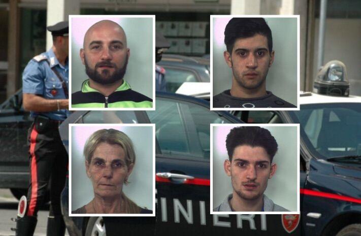 Provincia, blitz anti-droga e 4 arresti. Smantellato gruppo criminale